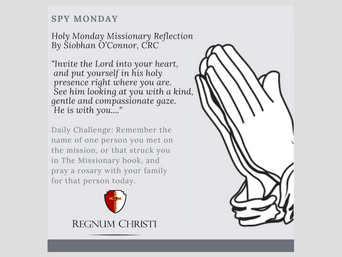 Spy Monday Virtual Quarantine Challenge