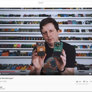 YouTube Hero:  Josh Scott, JHS Pedal Show