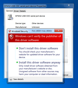 Flashing: driver cannot be installed by Windows 7 | Support