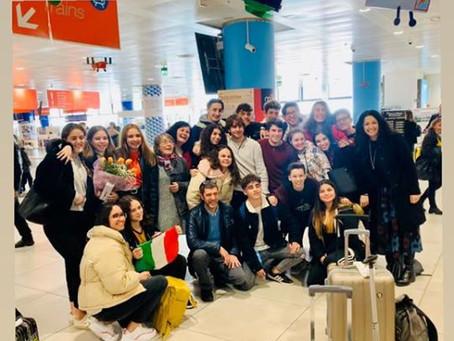 Erasmus+ Mediterráneo. Llegada  a Palermo