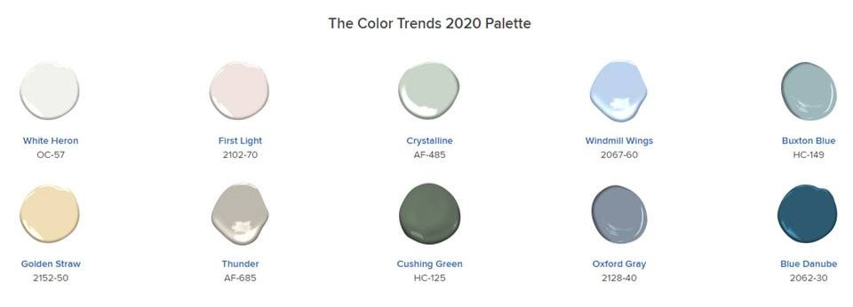 Design Tip Tuesday- Color Trends |Pinnacle Interior Designs