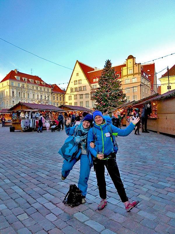 Рождественская ярмарка в Старом Таллине
