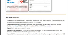 CPR Certification Card Verification