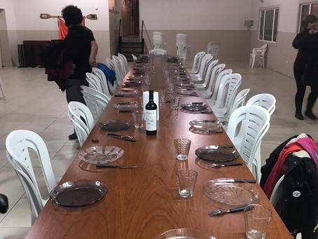 Cena organizada por socios en el Club Náutico