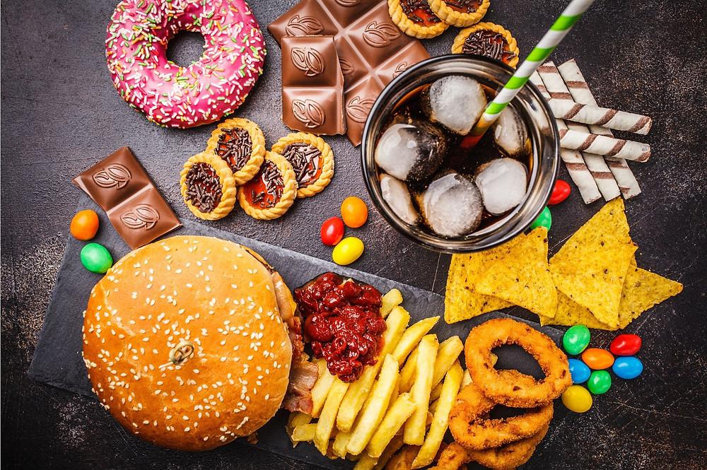 sodas, graisses saturées, fritures et viande rouge sont acidifiants