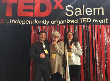 "The Curious ""Backstage"" Experience of a Regular* Gal from Oregon, Giving a TEDx Talk in Argentina"