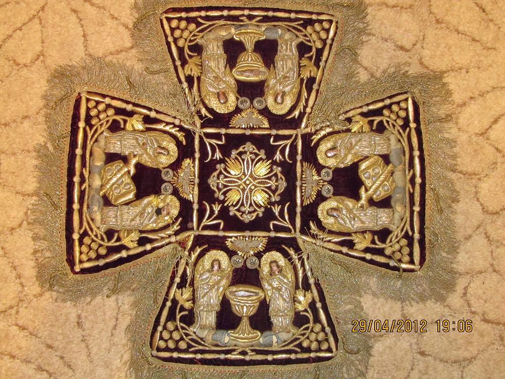Церковная швейная мастерская Евфимия вышивка на заказ схимнического облачения.