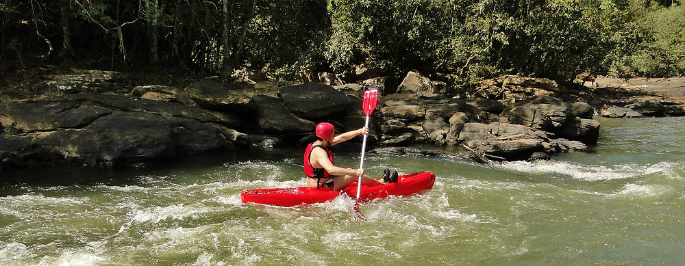 Canoagem no Rio Preto