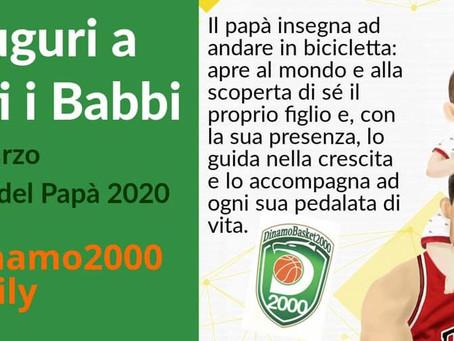 Auguri a tutti i Babbi Dinamo 2000