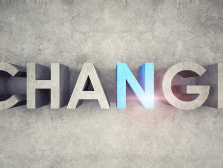 Things are Always Changing - By Pastor Tom Engel
