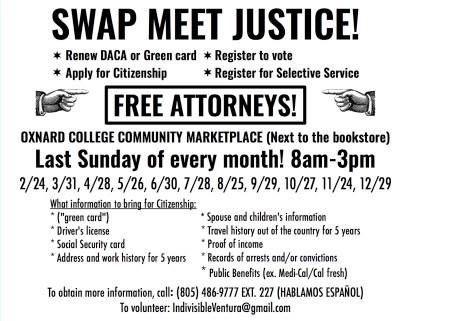 SWAP MEET JUSTICE