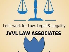 Internship @ JVVL Law Associates, Supreme Court of India