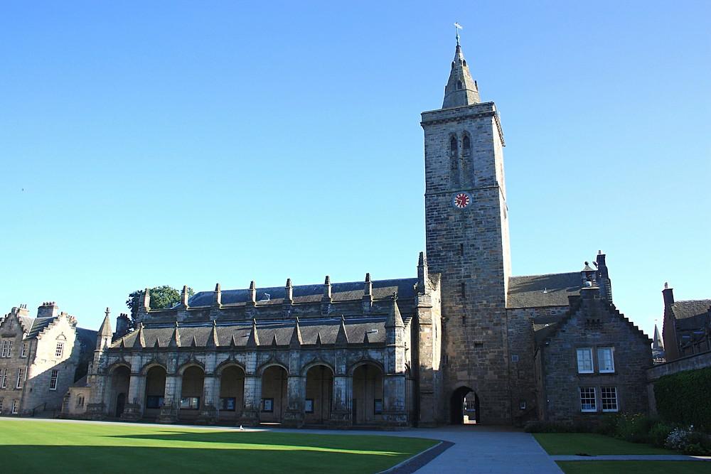 St Salvator's Quad in St Andrews, Scotland