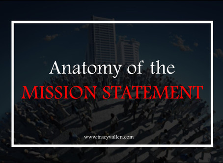 Anatomy of the Mission Statement