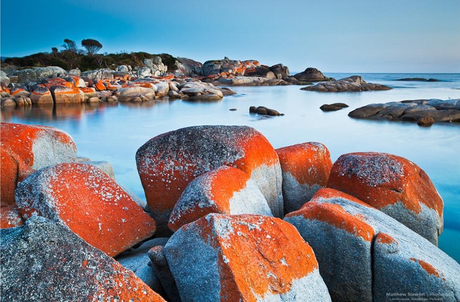 Bay of Fires en Tasmanie