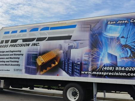 Mass Precision Box Truck 1