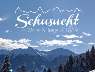 Save the Date: Sehnsucht Winter & Berge 2018/19