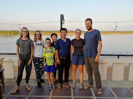 Semaine 27 : de Ban Hai (Laos) à Chiang Klom (Thaïlande)
