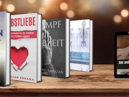 Das sind meine Bücher die ich über diverse Krankheiten sowie Psychologischen Behandlungsmaßnahmen.