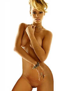 Steamy Rihanna Nude