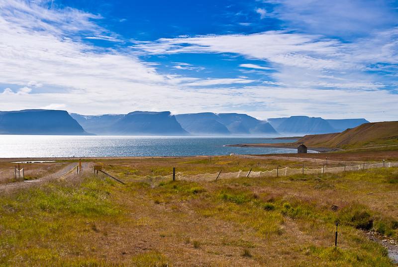 Arnarfjordur panorama