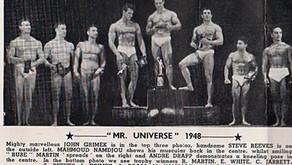 MR UNIVERSE 1948..Start of the dream