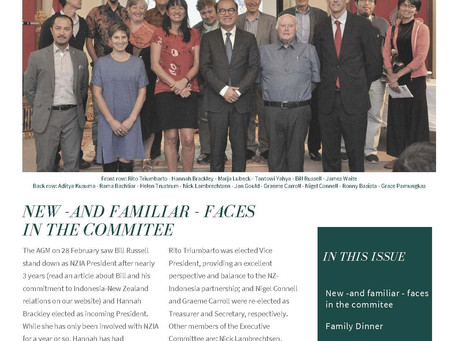The Fifty-Fifty - Our special issue newsletter celebrating 50 years of NZ-Indonesia relationship
