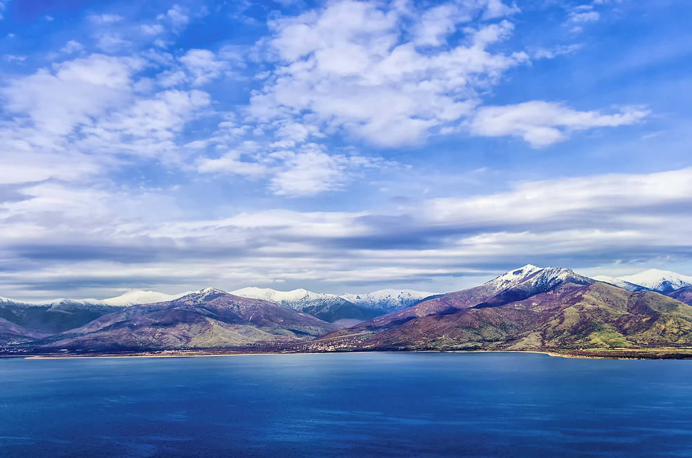 Great Prespa Lake
