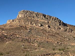 Marble Mountain fossil bedrocks