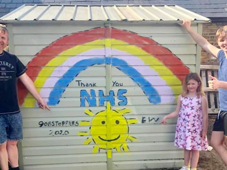 A small gesture of thanks from Gobstoppers to our wonderful NHS and key workers 🌈