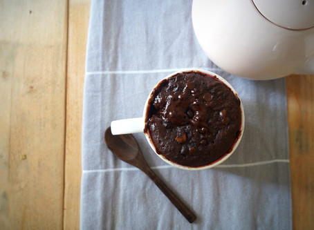 One-cup Microwave Chocolate Pudding