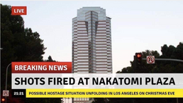 BREAKING: Shots Fired at Nakatomi Plaza in Los Angeles; Possible Hostage Situation