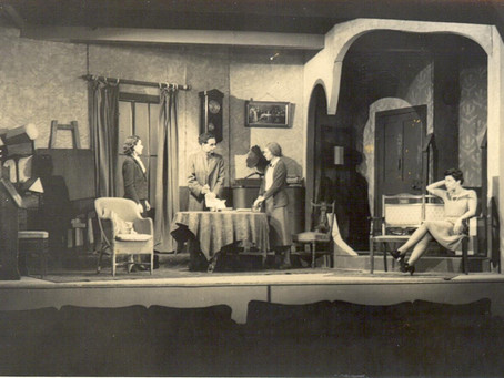 April in Mattock Lane 1943