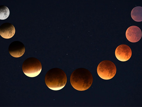 Blood Red Lunar Eclipse Full Moon in Aquarius- Will it Be the End of the World?