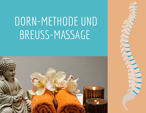 Dorn Methode und Breuss Massage
