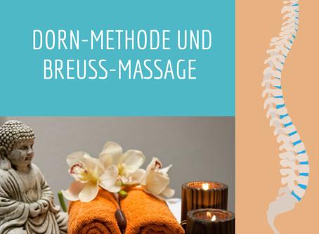 Ab sofort biete ich Ihnen die DORN-Methode & Breuss-Massage an