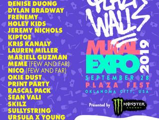 PLAZA WALLS MURAL EXPO 2019