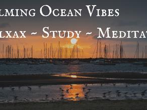 CALMING OCEAN VIBES   Relax ~ Study ~ Meditate
