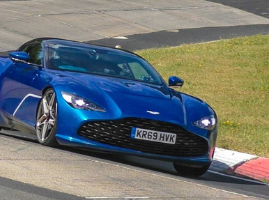 Aston Martin DBS GT Zagato Viewed in All Its Glory at the Nurburgring