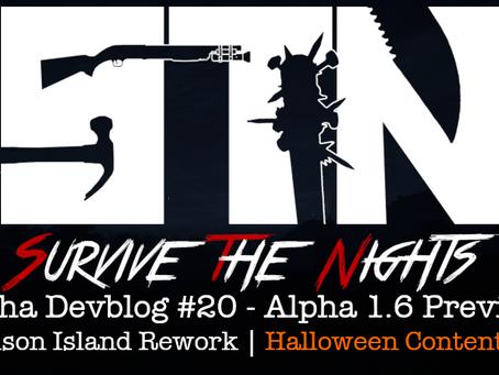 Alpha Devblog #20 - Alpha 1.6 Preview (Prison Island Rework   Halloween Content++)