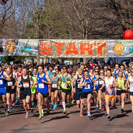 Katy and Tyler, Danny, Dakotah to Compete at Get in Gear 10k on 4/27; Heather 2nd at USA Road Champs