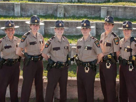 If you're a women or know other women interested in a law enforcement career ...
