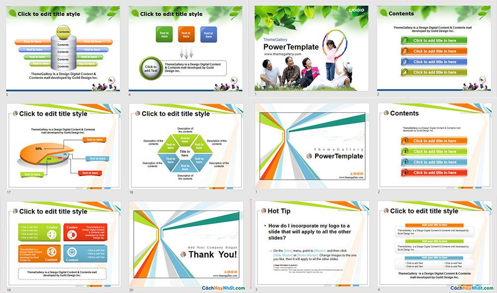Download Mẫu Powerpoint Template Free Đẹp - Phần 06