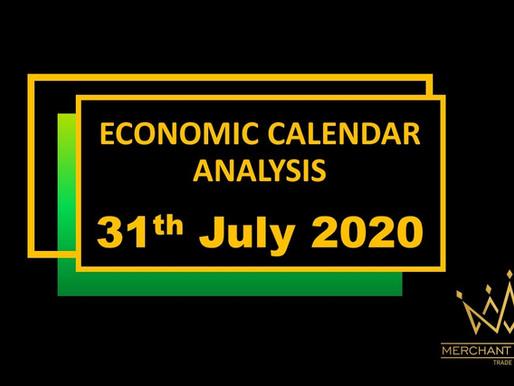 Merchant Economic Calendar | July 31, 2020