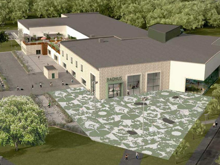 Kristianstads nya badhus genomsyras av konst