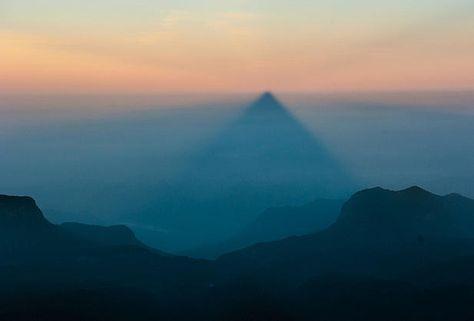 triangle du Pic d'Adam, Sri Lanka