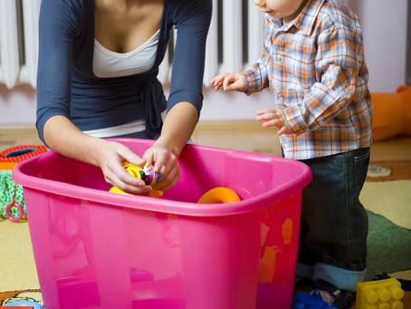 Few Tips on Getting Your Keiki to Put Toys Away