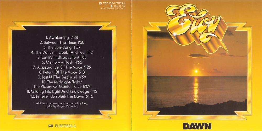 ELOY DAWN Album