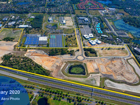 Aerial Images Show Job Site Progress in Lake Mary