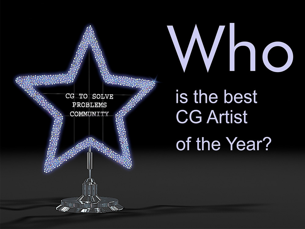 3D Rendering of the year prize for CG to Solve Problems Community